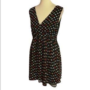 Pretty dressy polka dot Angie boho summer dress